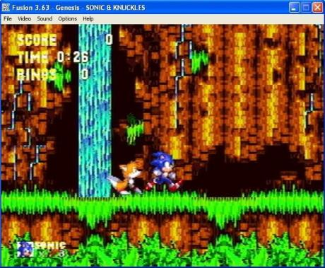 Sonic 3 & Knuckles working on emulator Kega Fusion