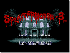 Splatterhouse 3000