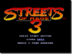 Streets of Rage 3000