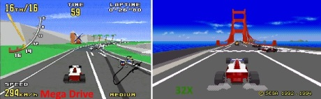 Virtua Racing MD 32X