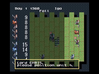 nobunaga's ambition mega drive