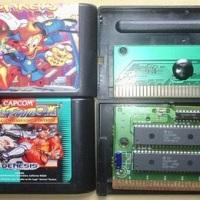 Reconhecendo e Limpando Cartuchos de Mega Drive