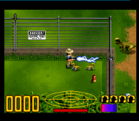 62076-jurassic-park-snes-screenshot-zapping-some-dinos