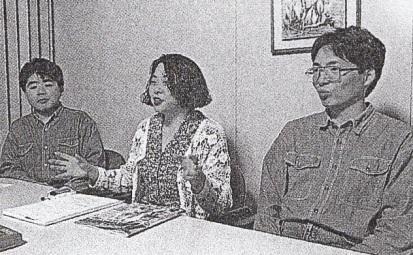 Akinori Nishiyama (designer, script), Rieko Kodama (director designer) Kazuyoshi Tsugawa (battle graphic designer).