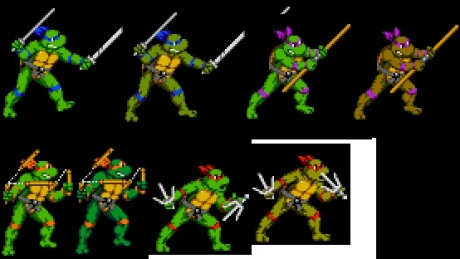 tmnt anime vs comic