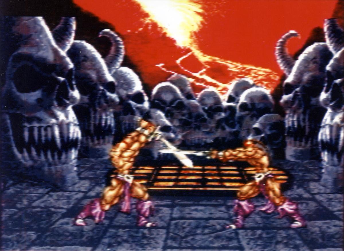 uma das primeiras batalhas de weaponlord