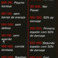 Mortal Kombat 3 - Golpes